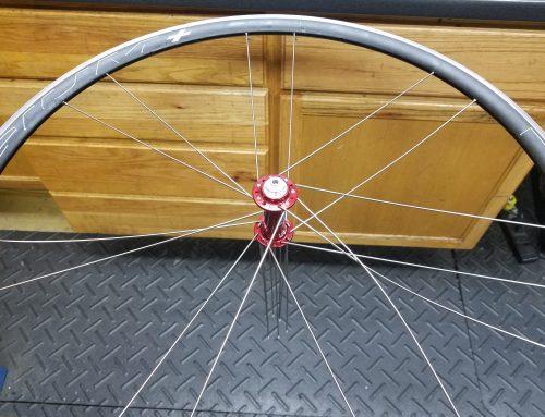 Wheel build in progress…