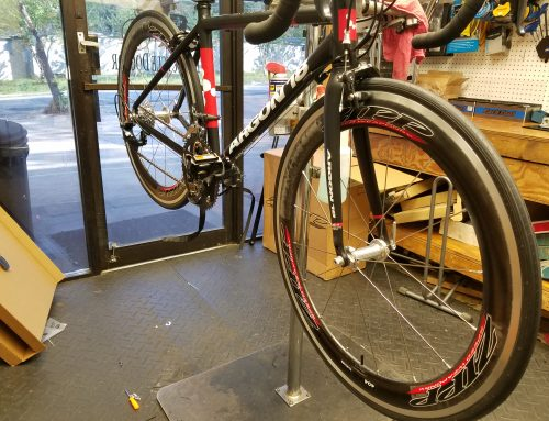 Snazzy 650c Zipp Carbon Wheels!