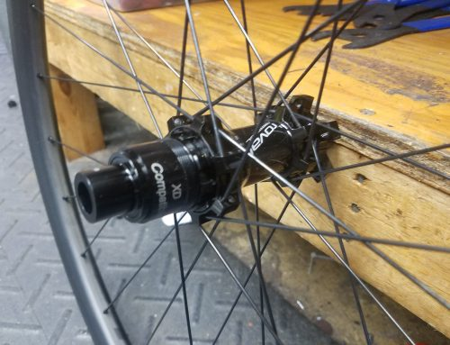 Converting new Roval Control SL wheelset to  fit Specialized Diverge with 135×12 Rear Spacing
