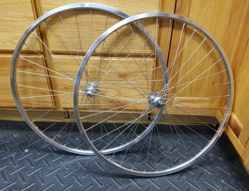 Another Retro Track Wheelset Build!